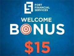 Welcome Bonus 15 USD